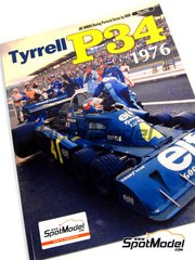 Model Factory Hiro: Libro - Joe Honda Racing Pictorial Series - Tyrrell P34 1976