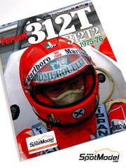 Model Factory Hiro: Libro - Joe Honda Racing Pictorial Series -Ferrari 312T - 312T2 1975 y 1976