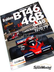 Model Factory Hiro: Libro de referencia - JOE HONDA Racing Pictorial Series - Brabham BT46 - 46B - 48, Alfa Romeo 177 - 179 - Campeonato del Mundo de Formula1 1978 y 1979