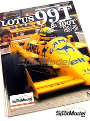 Model Factory Hiro: Libro de referencia - JOE HONDA Racing Pictorial Series - Lotus 99T y 100T - Campeonato del Mundo de Formula1 1987 y 1988