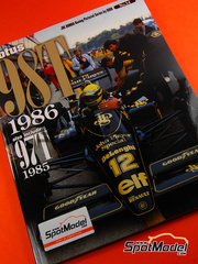Model Factory Hiro: Libro de referencia - JOE HONDA Racing Pictorial Series - Lotus 98T - Campeonato del Mundo de Formula1 1986