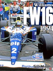 Model Factory Hiro: Libro - JOE HONDA Racing Pictorial Series - Williams FW16 1994