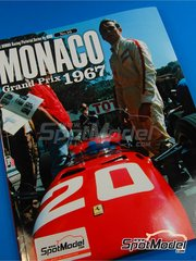 Model Factory Hiro: Libro de referencia - JOE HONDA Racing Pictorial Series - Gran Premio de Monaco 1967