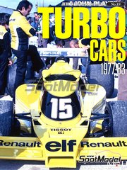 Model Factory Hiro: Libro de referencia - JOE HONDA Racing Pictorial Series - Turbo Cars - Coches con turbo 1977, 1978, 1979, 1980, 1981, 1982 y 1983