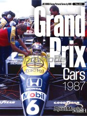 Model Factory Hiro: Libro de referencia - JOE HONDA Racing Pictorial Series - Grand Prix Cars - Campeonato del Mundo de Formula1 1987