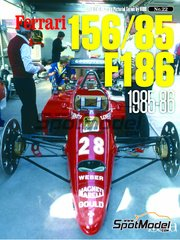 "Model Factory Hiro: Libro de referencia - JOE HONDA Racing Pictorial Series -  Ferrari 156/85 and F186 in the 1980s ""Turbo era"" 1980"