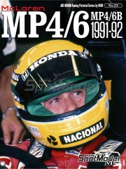 Model Factory Hiro: Libro de referencia - JOE HONDA Racing Pictorial Series - Mc Laren MP4/6B - MP4/6 1991 y 1992