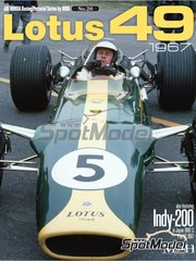 Model Factory Hiro: Libro de referencia - JOE HONDA Racing Pictorial Series - Lotus 49 - Campeonato del Mundo de Formula1 1967