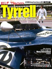 Model Factory Hiro: Libro de referencia - JOE HONDA Racing Pictorial Series - Elf Team Tyrrell - Campeonato del Mundo de Formula1 1970, 1971, 1972 y 1973