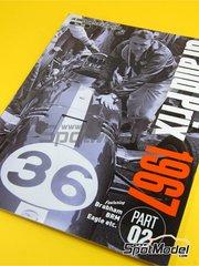 Model Factory Hiro: Reference / walkaround book - JOE HONDA Racing Pictorial Series - Grand Prix Cars - Part II 1967 image
