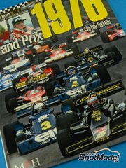 Model Factory Hiro: Reference / walkaround book - JOE HONDA Racing Pictorial Series - Grand Prix in the Details - FIA Formula 1 World Championship 1976 image