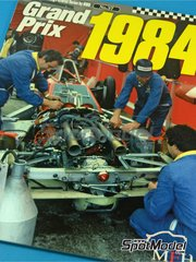Model Factory Hiro: Reference / walkaround book - JOE HONDA Racing Pictorial Series - Grand Prix 1984