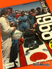 Model Factory Hiro: Reference / walkaround book - Joe Honda Racing Pictorial Series: Grand Prix 1968, part 2 1968 image