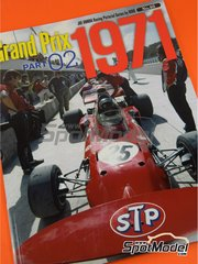 Model Factory Hiro: Reference / walkaround book - Joe Honda Racing Pictorial Series: Grand Prix, part 2 1971
