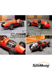Model Factory Hiro: Model car kit 1/24 scale - 500 F2 - German Grand Prix 1953