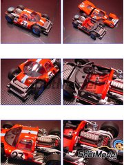 Model Factory Hiro: Model car kit 1/24 scale - Ferrari 412P Maranello Concessionnaire #23 - 24 Hours Le Mans 1967
