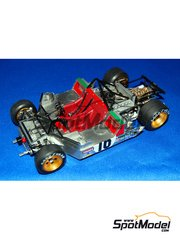 Model Factory Hiro: Model car kit 1/24 scale - Ferrari 312PB  - Belgian Grand Prix, Italian Grand Prix 1972