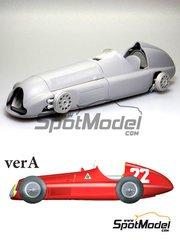 Model Factory Hiro: Model car kit 1/20 scale - Alfa Romeo Tipo 159 ver A Alfetta #22, 24 - Juan Manuel Fangio (AR), Felice Bonetto (IT) - Spanish Formula 1 Grand Prix 1951