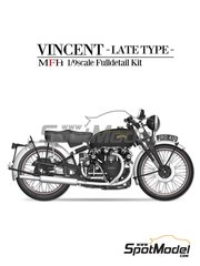 Model Factory Hiro: Model bike kit 1/9 scale - Vicent Black Shadow image
