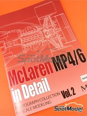 Model Factory Hiro: Reference / walkaround book - McLaren Honda MP4/6