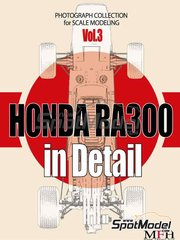 Model Factory Hiro: Reference / walkaround book - Honda RA300
