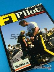 Model Factory Hiro: Book - Joe Honda F1 Pilot Series: Ayrton Senna