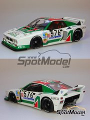 Model Factory Hiro: Model car kit 1/24 scale - Lancia Beta Montecarlo Alitalia #576 - Giro de Italia Rally 1979 - resin multimaterial kit