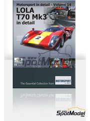 CD  by Motorsport in detail - Lola T70 Mk3  for Mac and PC image