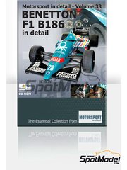CD  by Motorsport in detail - Benetton B186  for Mac and PC image