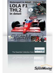 Motorsport in detail: CD - Lola Force Ford THL2 - World Championship 1986 - for Mac and PC
