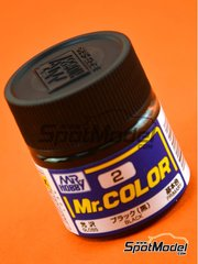 Mr Hobby: Pintura de la gama Mr Color - Black