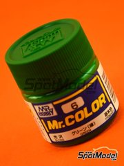 Mr Hobby: Pintura de la gama Mr Color - Verde - 1 x 10ml