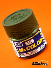Mr Hobby: Mr Color paint - Olive drab - 1 x 10ml