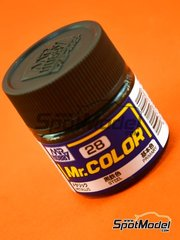 Mr Hobby: Pintura de la gama Mr Color - Acero - Steel - 1 x 10ml
