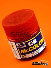 Mr Hobby: Mr Color paint - Clear red - 1 x 10ml