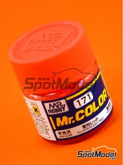 Mr Hobby: Mr Color paint - Fluorescent red - 1 x 10ml