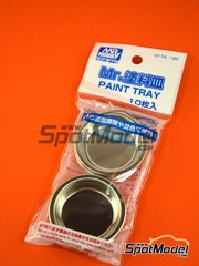 Mr Hobby: Tools - Mr. Paint tray - metal parts - 10 units