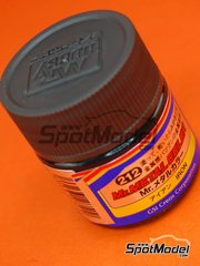 Mr Hobby: Pintura de la gama Mr Metal Color - Hierro acero - Mr. Metal Color - Iron - 1 x 10ml