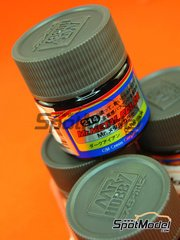 Mr Hobby: Pintura de la gama Mr Metal Color - Hierro oscuro - Mr. Metal Color - Dark Iron - 10ml