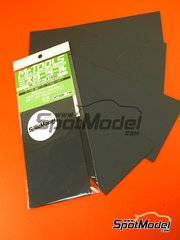 Mr Hobby: Sandpaper - Mr Waterproof sand paper #1500 - 4 units