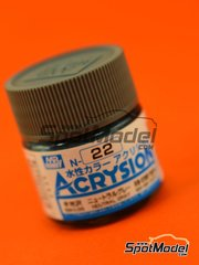 Mr Hobby: Acrysion Color paint - Neutral gray - 1 x 10ml