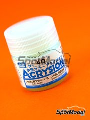 Mr Hobby: Acrysion Color paint - Flat base
