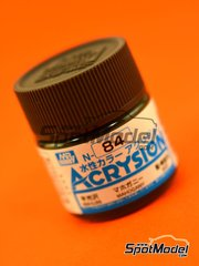 Mr Hobby: Acrysion Color paint - Mahogany brown - 1 x 10ml