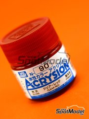 Mr Hobby: Acrysion Color paint - Clear red