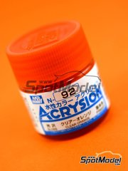 Mr Hobby: Acrysion Color paint - Clear orange