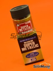 Mr Hobby: Mr Color Super Metallic Paint - Super Gold image