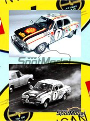Narton Kits: Model kit 1/25 scale - Ford Escort Mk I RS 1600