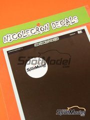 Nicolecron Decals: Decals - Carbon fiber - water slide decals