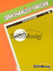 Nicolecron Decals: Decals - Kevlar fiber - water slide decals