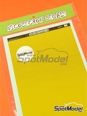 Nicolecron Decals: Decals - Kevlar fiber - water slide decals